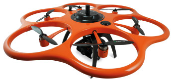 UAVs like this one by Aibotix will soon be used in 3D mapping and surveying. (Image courtesy of Hexagon/Leica Geosystems.)