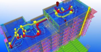Tekla Structures is a BIM software designed to help manufacturers create accurate, constructible models. (Image courtesy of Tekla.)