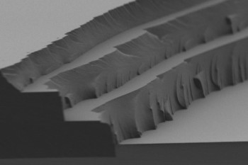 Solar thermal fuel polymer film comprised of three distinct layers (four to five microns in thickness for each). (Image courtesy of MIT.)
