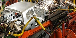Detroit remains the central hub of automotive manufacturing in the U.S. (Image courtesy of MEDC.)