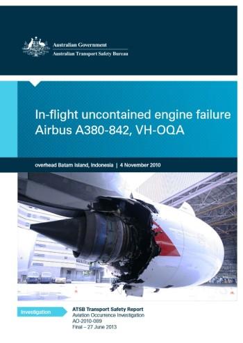 Investigative report into Qantas Flight 32 by the Australian Transportation Bureau.