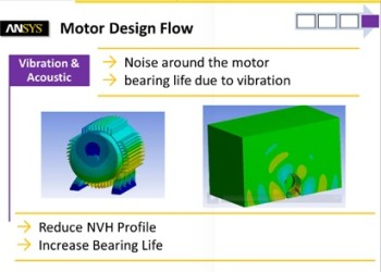 For additional analysis, analysts may need to look into the noise and vibration of the electric motor.