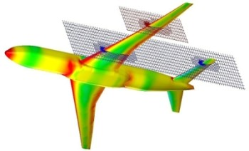 FloEFD's automatic uniform mesh built over a surface improves user experience. Image courtesy of Mentor Graphics.