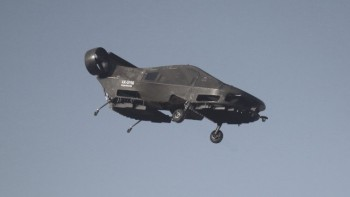 The Cormorant VTOL aircraft. (Image courtesy of Tactical Robotics.)