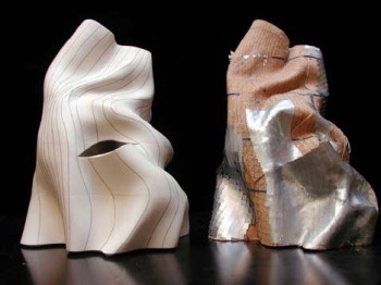 A Frank Gehry architectural model