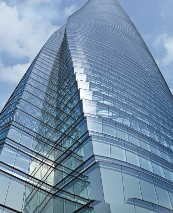 The façade of the Shanghai Tower necessitated the use of BIM. (Image courtesy of Gensler.)