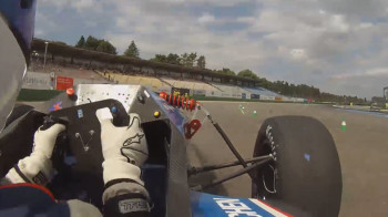 A driver pushing the car to its limits while cornering in the endurance race. This race is the climax of each Formula Student event - similar to the Grand Prix during a F1 weekend – where all cars go for 22 laps on the track including one pit stop with driver change. (All images courtesy of The MathWorks, Inc.)