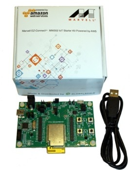 EZ-Connect MW302 starter kit. (Image courtesy of Marvell.)