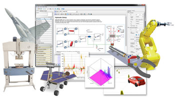 MapleSim release expand component libraries and diagnostic tools for improved MBD. Image courtesy of Maplesoft.