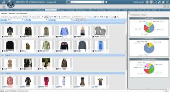 Dassault Systèmes vertical solution My Collection allows fashion retailers to manage and collaborate around their fashion collections.