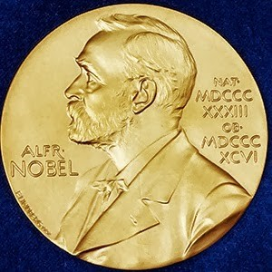 The Nobel Prize. Well worth the work! (Image courtesy of the Nobel Prize Organization.)