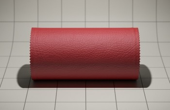 Rendered leather material.