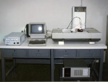 The first 3D printer.