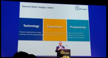 Jean-Claude Ercolanelli, senior vice president of product management at CD-adapco presents improvements to STAR-CCM+ version 11 at STAR Global Conference.