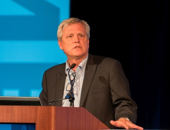 Chuck Grindstaff, CEO and president of Siemens PLM Software.