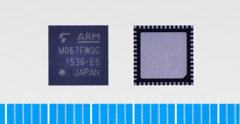 Toshiba: ARM Cortex-M0 core based microcontroller