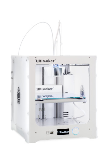 Desktop 3D printers have come a long way since the days of DIY kits. (Image courtesy of Ultimaker.)
