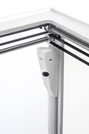 A built-in webcam allows for remote monitoring of the 3D printer. (Image courtesy of Ultimaker.)