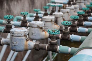 Old household pressure valves.
