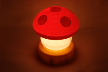 How can a mushroom power-up a smartphone?