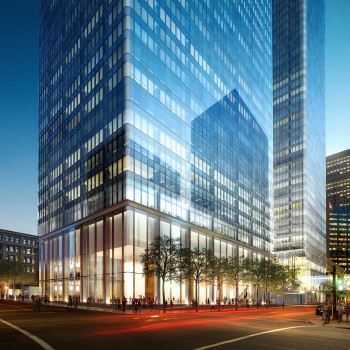 The design of Brookfield Place inspired a new level of material modeling. (Image courtesy of Brookfield Properties.)