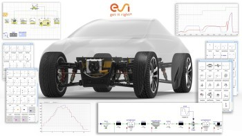 ESI-Xplorer improves the development of architecture, systems, parts and controls using 0D and 1D systems models in Visual-Environment.