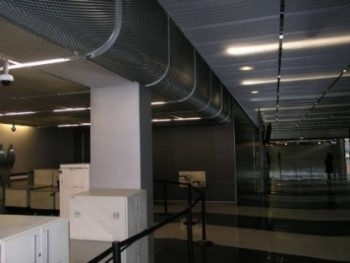 Expanded Metal Ceiling (Image courtesy of Metalex.)