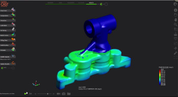 Analyzing Click2Cast 4.0 results. (Image courtesy of Altair solidThinking.)