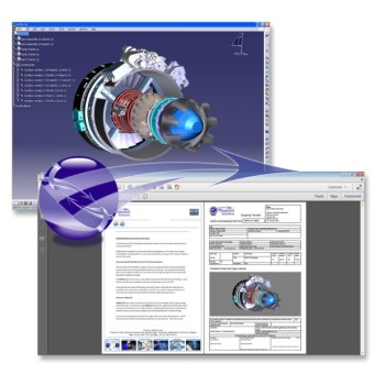Theorem Solutions' Publish 3D works with the latest version of CATIA. (Image Courtesy of Theorem Solutions)