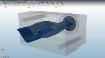 Click2Extrude's simple interface make complex work, simple.
