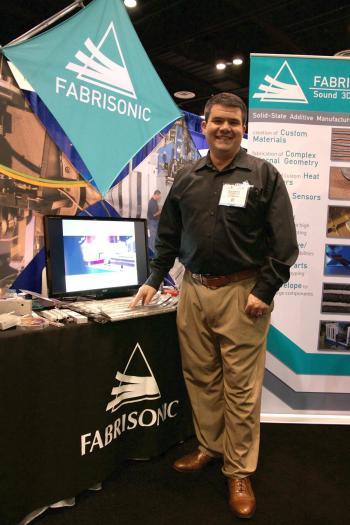 Fabrisonic CEO Mark Norfolk.