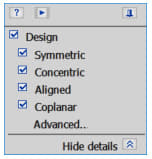 Solid Edge Design Intent panel. (Image courtesy of the author.)