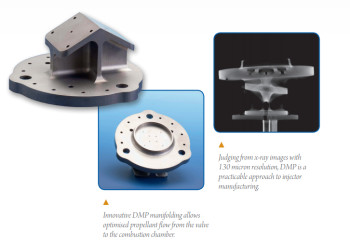 ESA's integrated injector design is made possible by DMP.