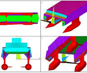 Image from a NAFEMS structural optimization training course on FEA. (Image courtesy of NAFEMS.)