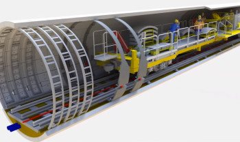 Not just for architects: BIM can be used for all kinds of building projects, including the London Underground renovation modeled here. (Image courtesy of Bentley Systems.)