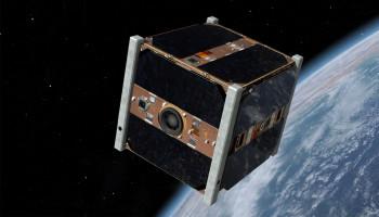 The SwissCube satellite. Image courtesy EPFL.