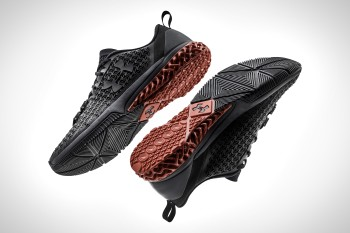 Under Armor's Architech high-performance sports shoe, designed with Autodesk's generative design technology.