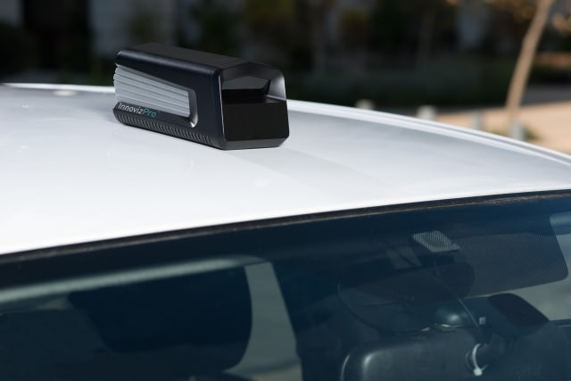 New LiDAR sensor from Innoviz (Image courtesy of Innoviz.)