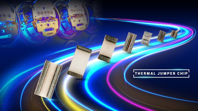 TJC series thermal jumper chips. (Image courtesy of TT Electronics.)