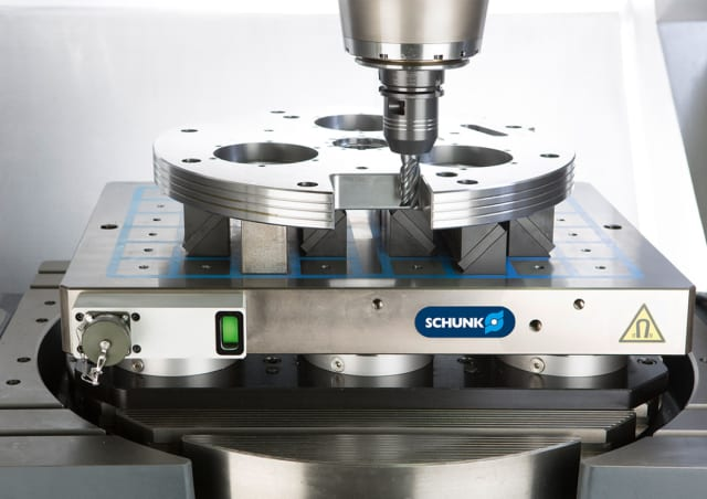MAGNOS clamping system. (Image courtesy of SCHUNK.)