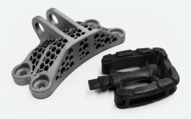 Parts 3D printed by Xometry. (Image courtesy of Xometry.)