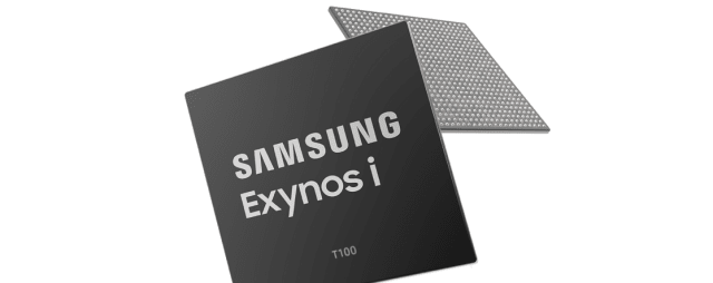 Exynos iT100 IoT processor. (Image courtesy of Samsung.)