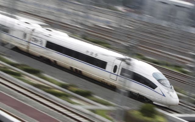 Chinese HSR. (Image courtesy of Reuters.)