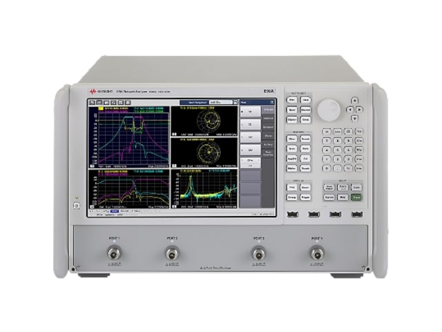 E5080B network analyzer. (Image courtesy of Keysight Technologies.)