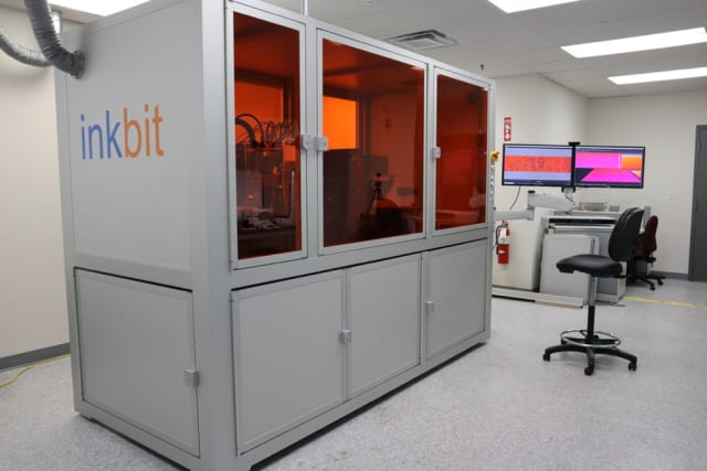 The Inkbit 3D printer combines machine vision and machine learning to perform closed-loop quality control and more. (Image courtesy of Inkbit.)