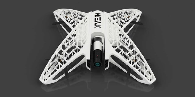 Nice drone—a shame it doesn't exist in large numbers. (Image courtesy of Autodesk.)
