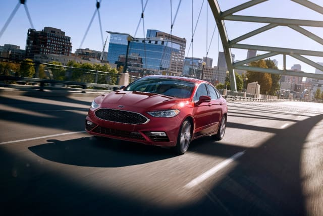 2017 Ford Fusion. (Image courtesy of Ford Motor Company.)