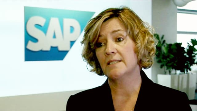 AN EASIER AND CLEARER MODEL, says Adaire Fox-Martin, a member of SAP's executive board of SAP SE, Global Customer Operations.
