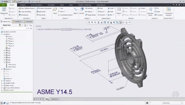 Creo 7 adds improvements for model-based design. (Image courtesy of PTC.)