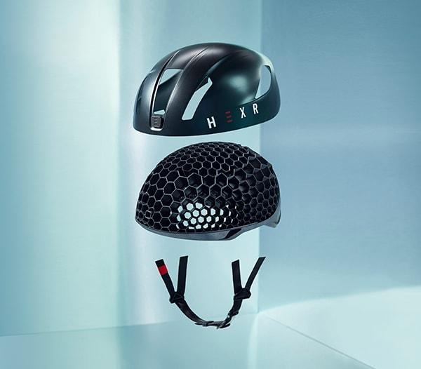 Hexr helmet. (Image courtesy of HEXR.)